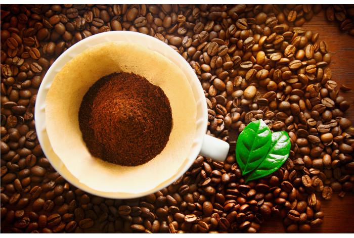 Модульная картина Молотый кофе Молотый кофе
