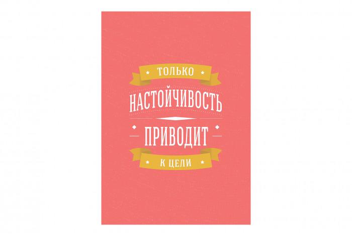 Постер Только настойчивость приводит к цели